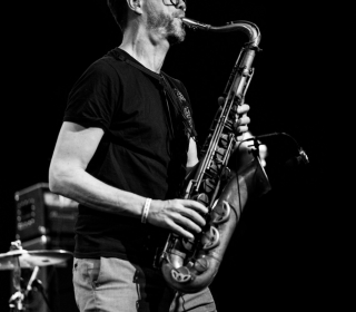 Reportage photos de Donny McCaslin et Manu Carré Electric 5