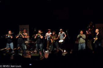 Reportage photos de Youngblood Brassband et Alexandra Miller & Metromantic